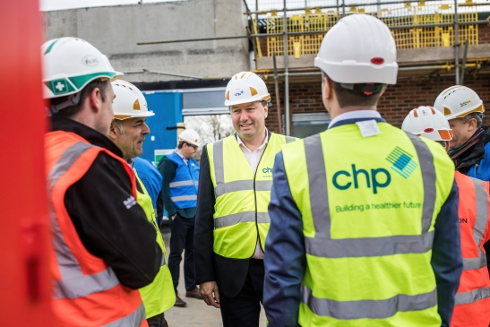 Building a health centre for Dulwich and south Southwark – Topping out ceremony marks another significant milestone