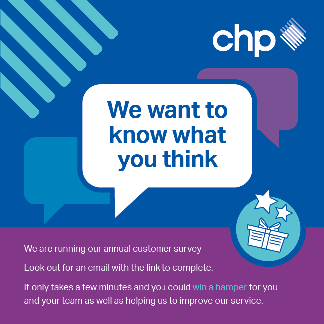 CHP customers – please give us your views