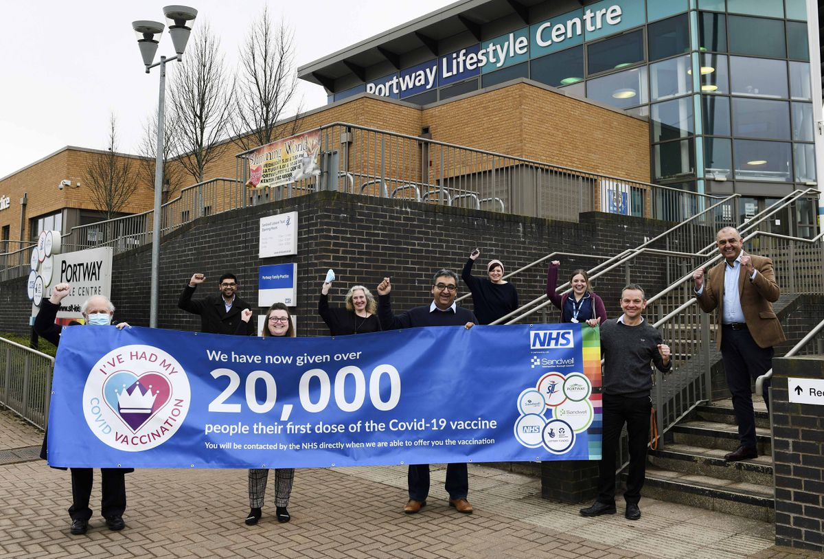 20,000 vaccinations given at Portway Lifestyle Centre Oldbury