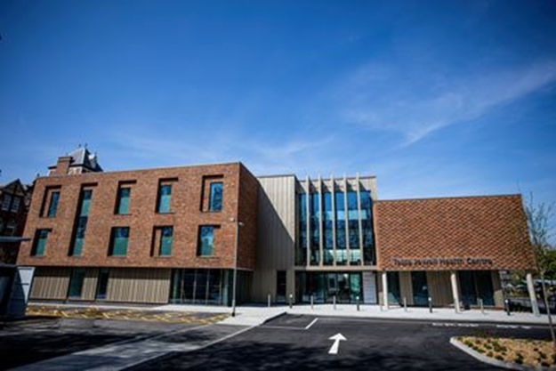 Artists impression of new Jean Bishop Integrated Care Centre