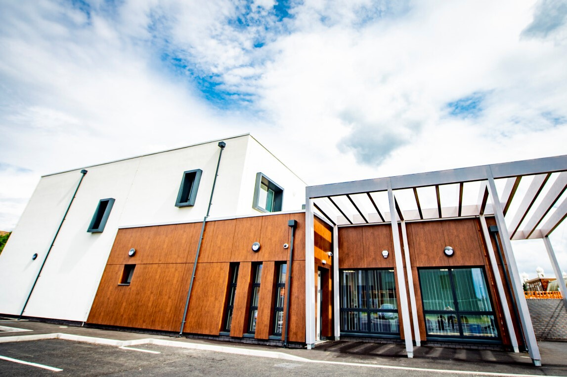 The UK's greenest health care building reaches completion